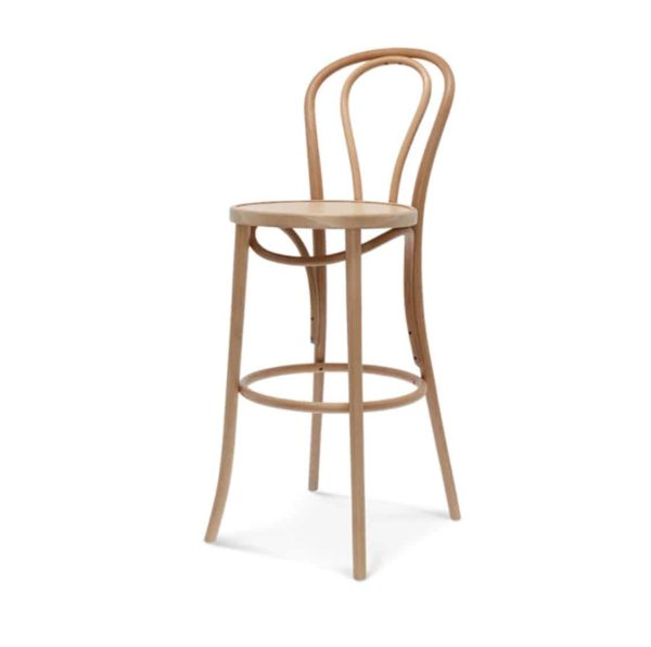 Archie Bentwood Bar Stool From DeFrae Contract Furniture Oak 2