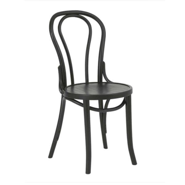 Archie Bentwood Side Chair From DeFrae Contract Furniture Black