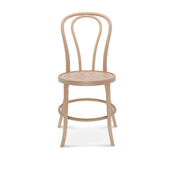 Archie Bentwood Side Chair From DeFrae Contract Furniture Natural Beech