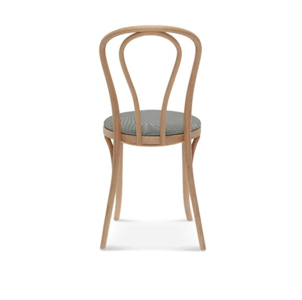 Archie Bentwood Side Chair From DeFrae Contract Furniture Natural Beech Uphosltered Seat Back