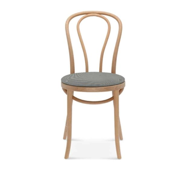 Archie Bentwood Side Chair From DeFrae Contract Furniture Upholstered Seat