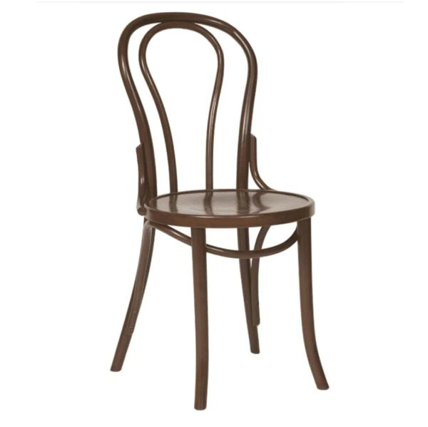 Archie Bentwood Side Chair From DeFrae Contract Furniture Walnut