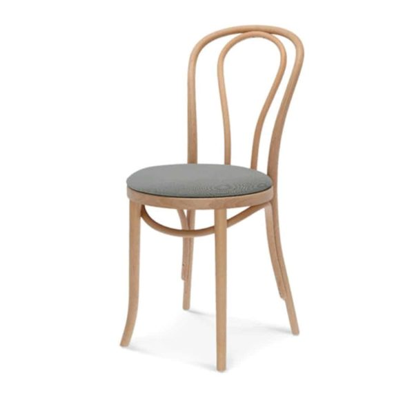 Archie Bentwood Side Chair Upholstered Seat From DeFrae Contract Furniture