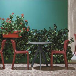 Arki Table Base Ark 3 Pedrali at DeFrae Contract Furniture In Situ