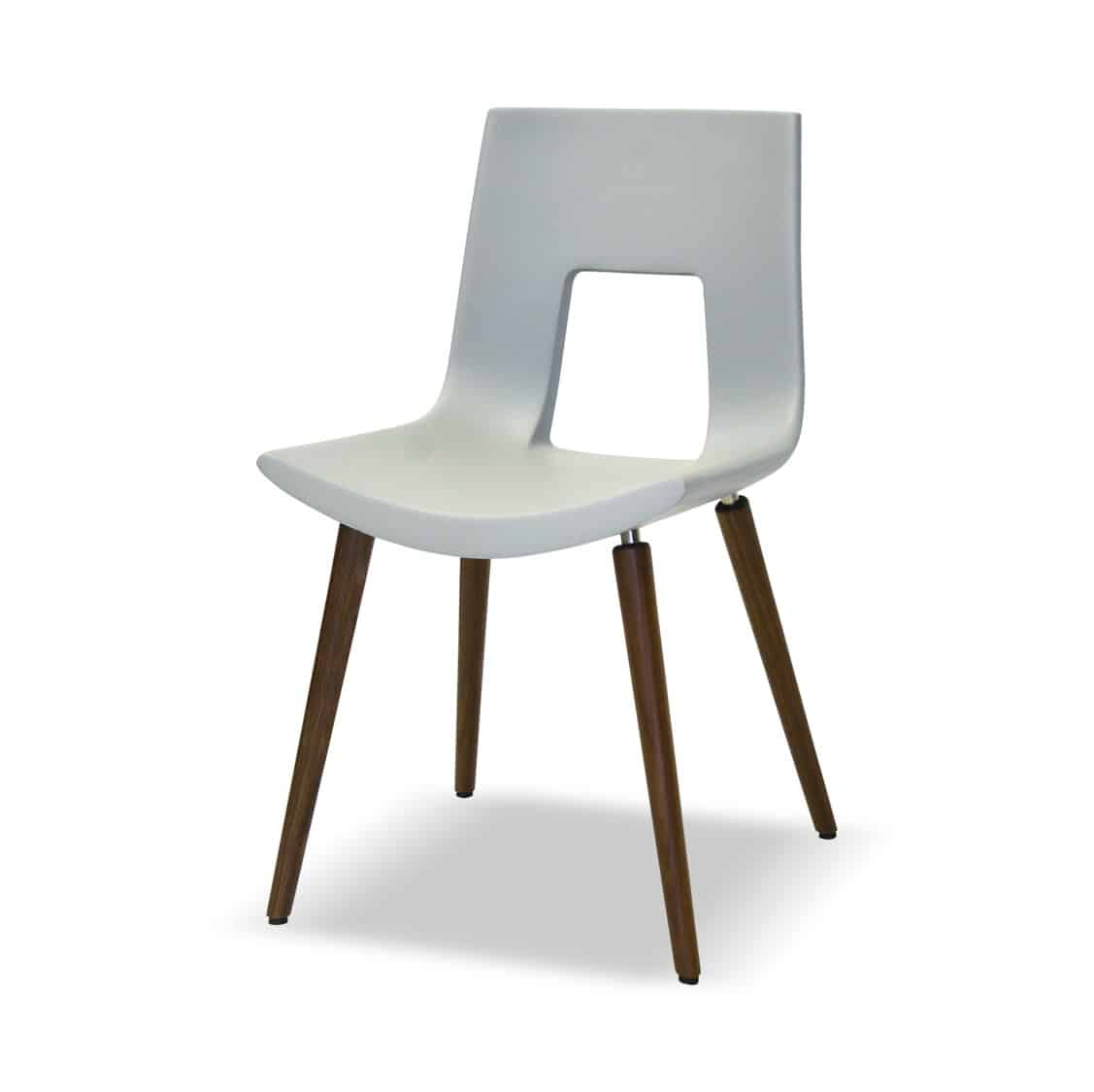 Aubyn Side Chair Tonon Nine Eighteen Available From DeFrae Contract Furniture White