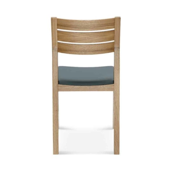 Bailey Wood Side Chair A-1405 DeFrae Contract Furniture Back