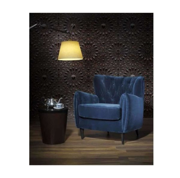 Baron Armchair ContractIn available from DeFrae Contract Furniture Blue