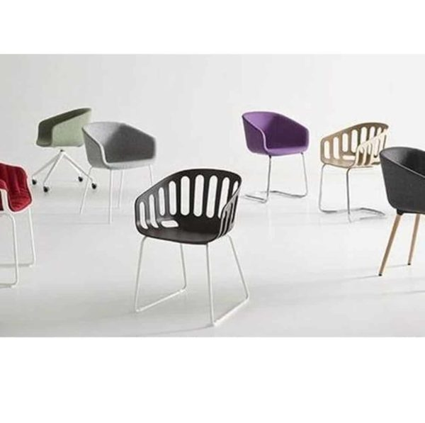 Basket Armchair Range Gaber at DeFrae Contract Furniture Full