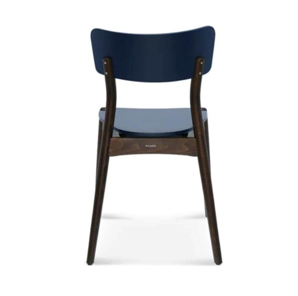 Beam side chair Malibu Restaurant Chair DeFrae Contract Furniture Back
