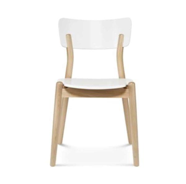 Beam side chair Malibu White Restaurant Chair DeFrae Contract Furniture