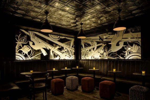 Bespoke Cushions and Seating at Nightjar Bar Shoreditch by DeFrae Contract Furniture