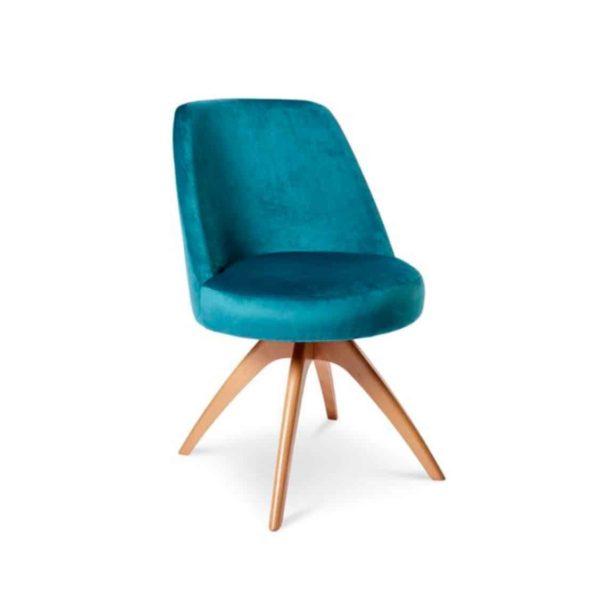 Britannia Side Chair DeFrae Contract Furniture Cross Leg