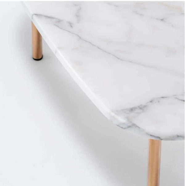 Buddy Marble Table Pedrali DeFrae Contract Furniture Close Up