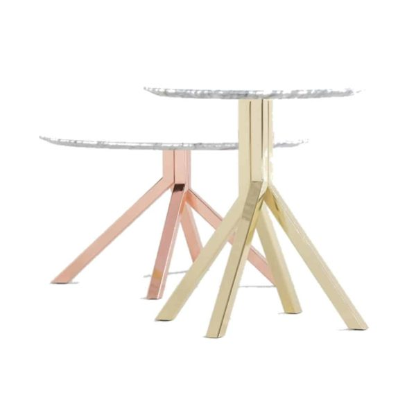 Buzz Table at DeFrae Contract Furniture Grapevine Brass and Bronze