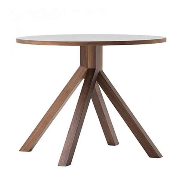 Buzz Table at DeFrae Contract Furniture Grapevine Walnut Stain