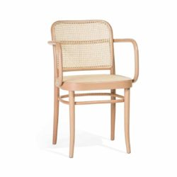 Cane Armchair 811 DeFrae Contract Furniture Ton
