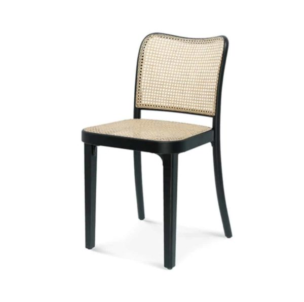 Cane side chair DeFrae Contract Furniture 811 chair