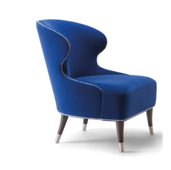 Carmel Lounge Chair Camelia Tirolo DeFrae Contract Furniture