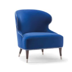 Carmel Lounge Chair Camelia Tirolo DeFrae Contract Furniture Front