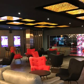Cineworld VIP Experience at the 02 contract restaurant bar furniture by DeFrae 2