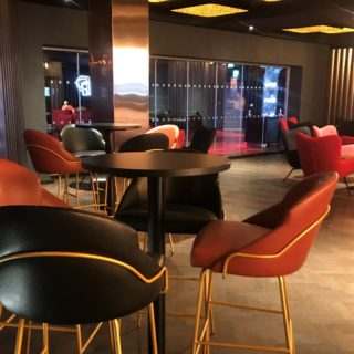 Cineworld VIP Experience at the 02 contract restaurant bar furniture by DeFrae 4