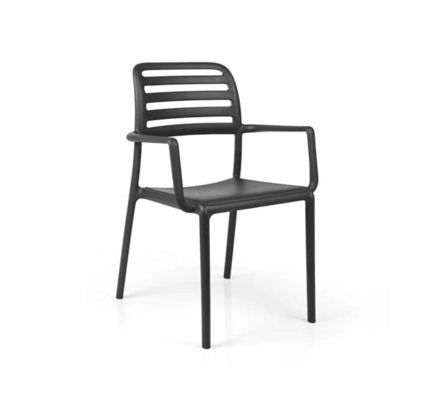 Coast Armchair Nardi Costa DeFrae Contract Furniture Black