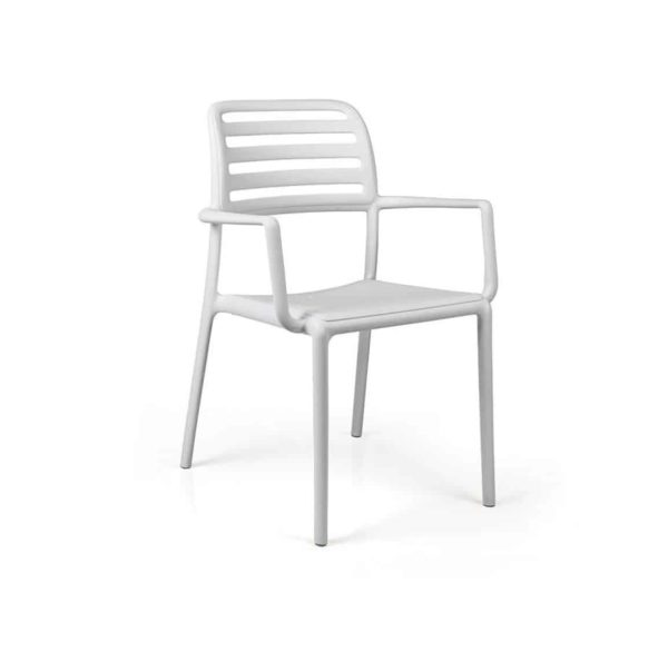 Coast Armchair Nardi Costa DeFrae Contract Furniture White