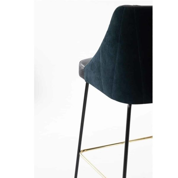 Compton Bar Stool available from DeFrae Contract Furniture Soho B Close Up