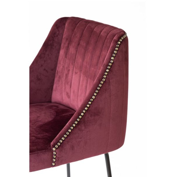 Compton Bar Stool available from DeFrae Contract Furniture Soho Close Up