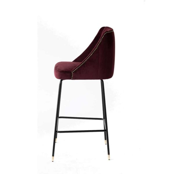 Compton Bar Stool available from DeFrae Contract Furniture Soho Side