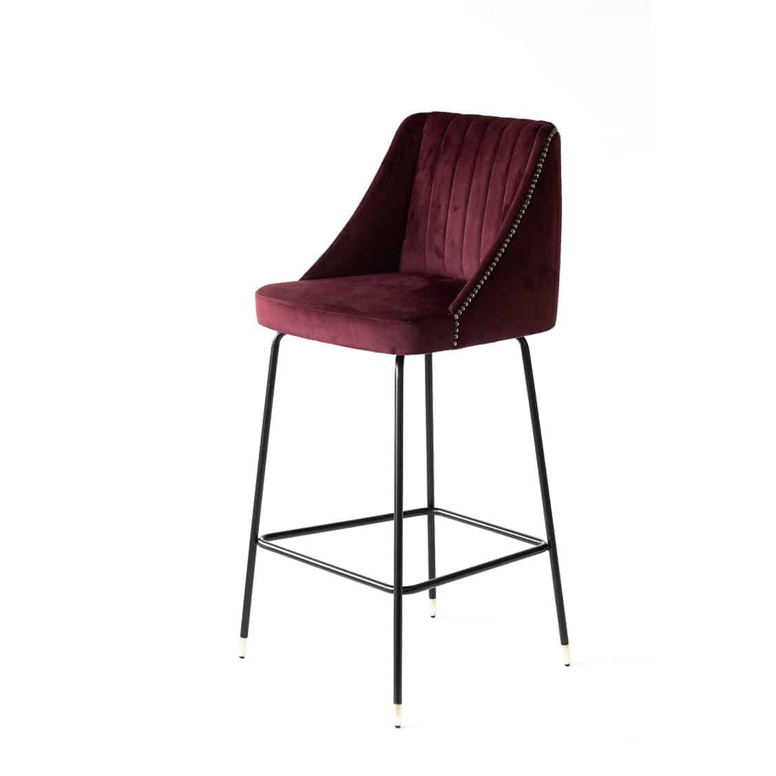 Compton Bar Stool available from DeFrae Contract Furniture Soho