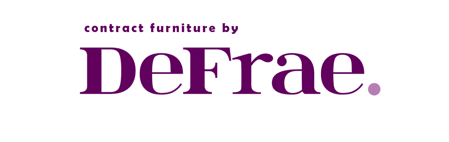 Contract furniture by DeFrae London Essex UK