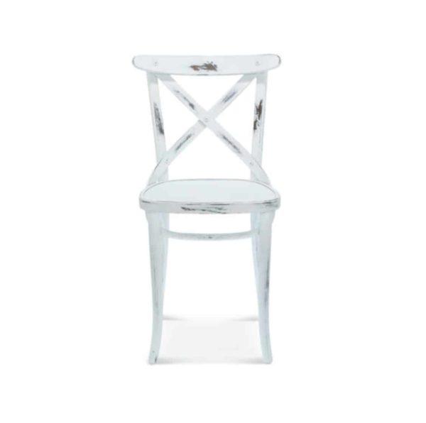 Cruz cross back bentwood side chair 8810 DeFrae Contract Furniture 2