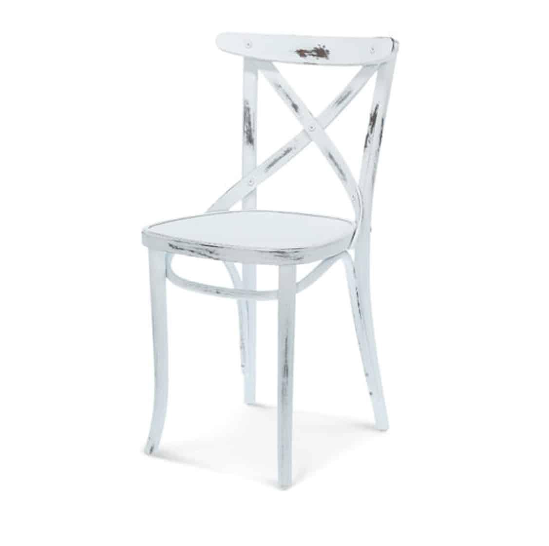 Cruz cross back bentwood side chair 8810 DeFrae Contract Furniture