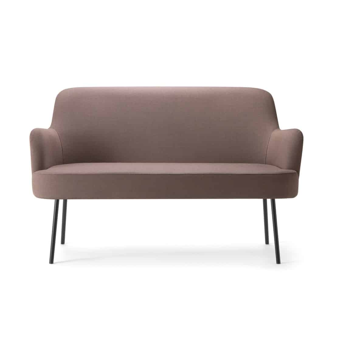 Da Vinci Sofa 09 2 Seater DeFrae Contract Furniture Metal Legs