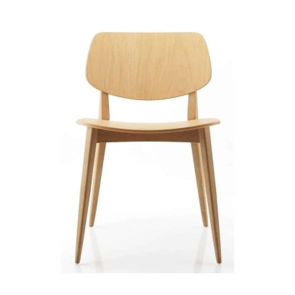Doll Wood side chair 060 Billiani DeFrae Contract Furniture