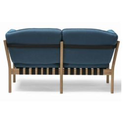 Dowel 2 seater sofa and armchair DeFrae Contract Furniture Back View