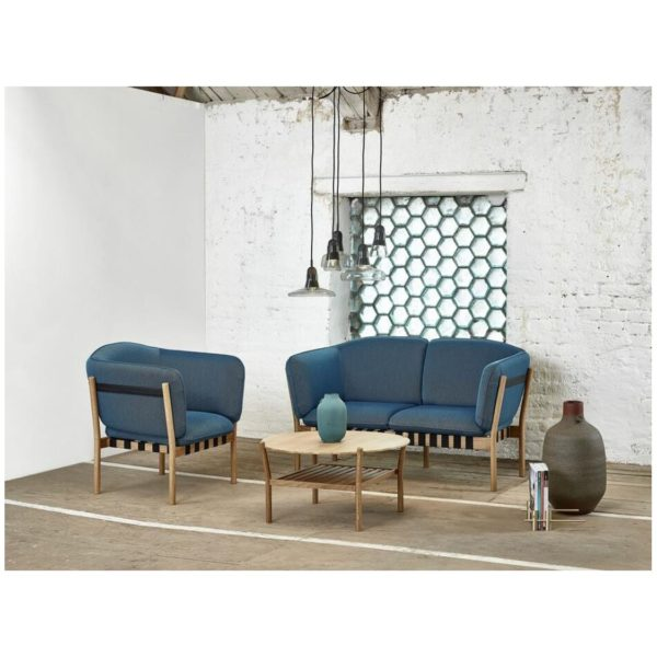 Dowel 2 seater sofa and armchair in situ DeFrae Contract Furniture.png