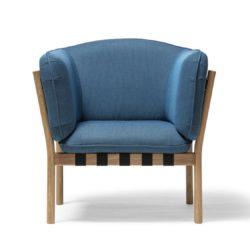 Dowel armchair DeFrae Contract Furniture Blue 2