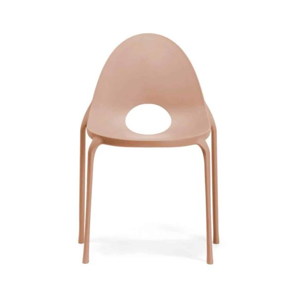Drop Side Chair Infiniti Design at DeFrae Pink Stackable
