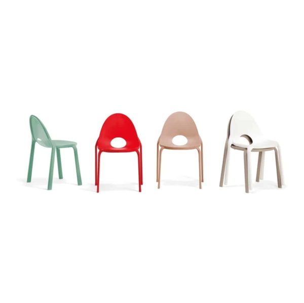 Drop Side Chair Infiniti Design at DeFrae Stackable Chairs