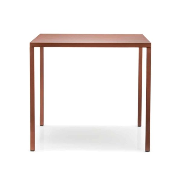 Fabbrico table by Pedrali at DeFrae Contract Furniture Red