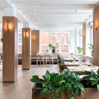 Restaurant Furniture by DeFrae Contract Furniture at The Gate St Johns Wood