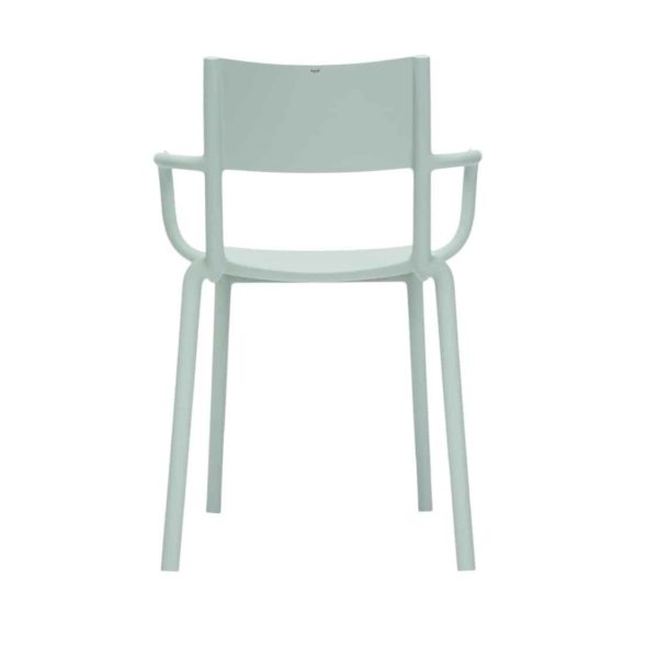 Generic A Side Chair Kartell available at DeFrae Contract Furniture Green Back