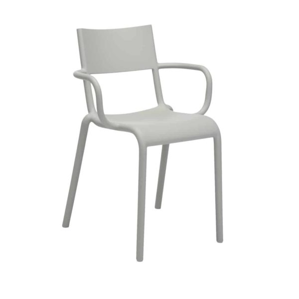 Generic A Side Chair Kartell available at DeFrae Contract Furniture Grey