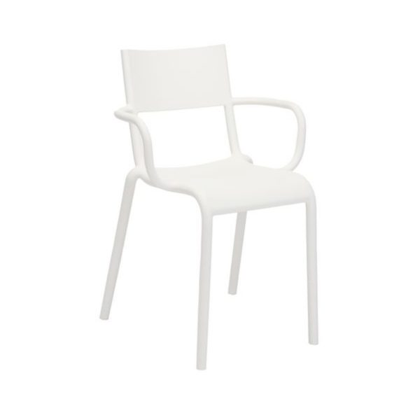 Generic A Side Chair Kartell available at DeFrae Contract Furniture White