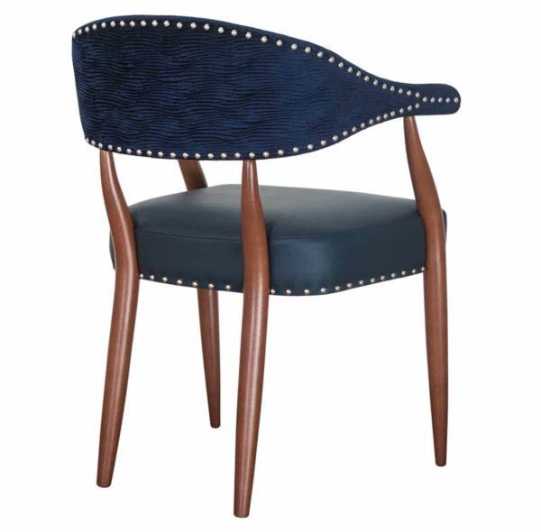 Grove armchair Maria CM Cadeiras DeFrae Contract Furniture Back View