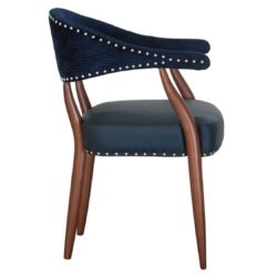Grove armchair Maria CM Cadeiras DeFrae Contract Furniture Side View