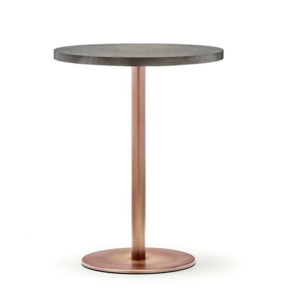 Inox Brass 4401 Tablebase Pedrali at DeFrae Contract Furniture