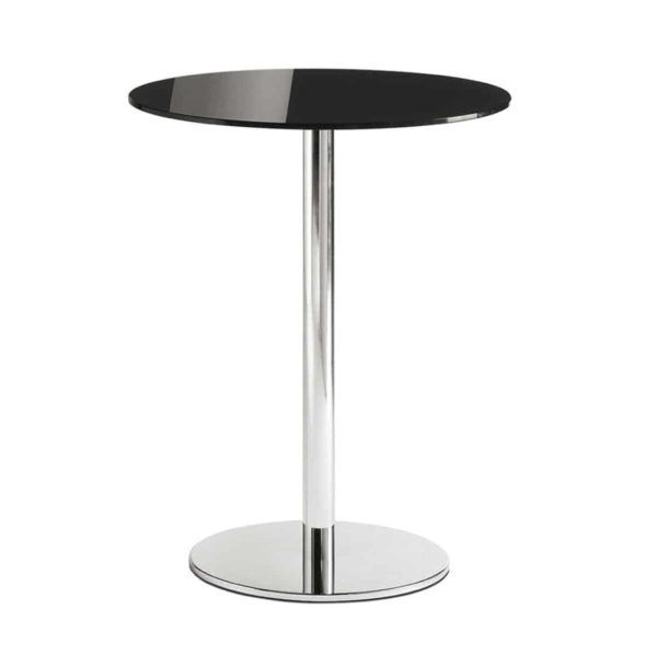 Inox Chrome 4401 Round Tablebase Pedrali at DeFrae Contract Furniture